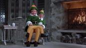 Buddy and Papa Elf