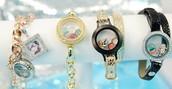 create a sleek locket for your wrist