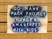 Go-HAWK Pack Program Engages School, Community, World