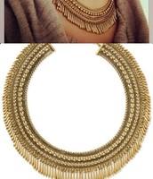 Tansy fringe collar $50