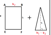 finding the area of a triangle,trapezoied,rectangle, square