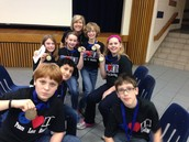 2015 FSMS Bluebonnet Book Bowl Team