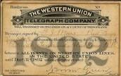 Telegrama Western Union