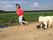 אני ופולו- הכלב שלי