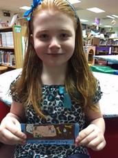 ASD School Wide Book Mark Winner