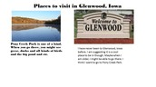 Places to visit in Glenwood
