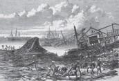 7) 1737 Calcutta cyclone