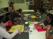 Ação de formação com os(as) Encarregados(as) de Educação sobre Expressão Plástica