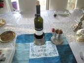 מחזיק לבקבוק יין