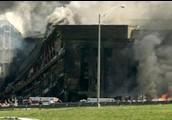 The Pentagon after the crash.