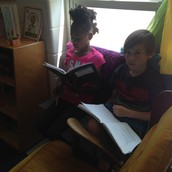 Reading and Writing together!