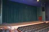 New Curtains Installed in Arganbright Auditorium