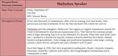 Shelterbox Speaker