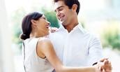 Couples Swing Dancing