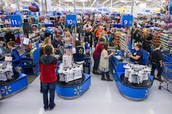 Why do people shop at Wal-Mart?
