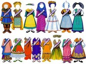 International Paper Dolls