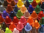Creating the colorful world of the crayon!