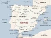 El mapa de espana
