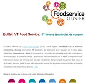 Butlletí per al Cluster Food Service