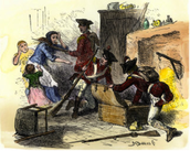 What Led to the Quartering act?