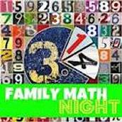 Family Math Night-Thursday, Nov. 20th!