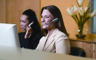 Receptionist to answer phones