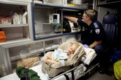 Baby in Ambulance
