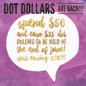 DOT DOLLARS!!!!