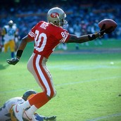 Is Jerry Rice one of the greatest wide receivers in the NFL