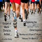 """Lenten Study - """"The Gospel of Mark"""""""