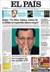 GENERAL NEWSPAPER: EL PAIS (The country)
