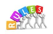 Rules you should follow
