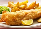 Fried Cod and Chips