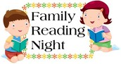 Family Reading Night is coming up!