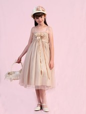 Capture the Eternal Beauty of the Wedding Ceremony with Ivory Flower Girl Dresses