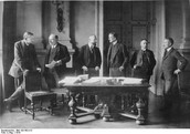 Meeting at Versailles - January 1919