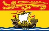 Le drapeau de Nouveau Brunswick