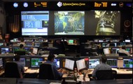 Shuttle Mission Control Room