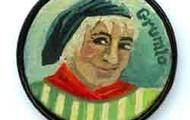 Grumio button painting