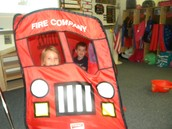 Fire Truck for Fire Safety Week