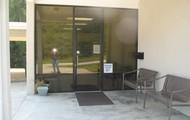 Entrance to Bowdon Raha clinic