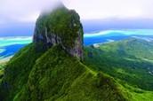 The top of Mountain Peak Bay