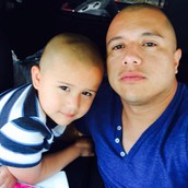 dad & little brother