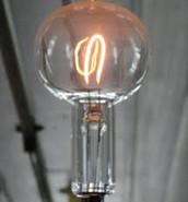 Lightbulb from Edison