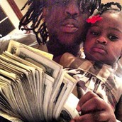 chief keef with his daughter kay kay