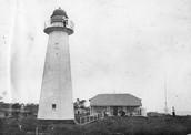 The famous Lighthouse on Moreton island