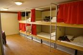 Quédate en un hostel