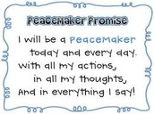 How do I become a peacemaker?