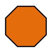 Shape: OCTAGON