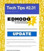 Edmodo End of Year Procedures